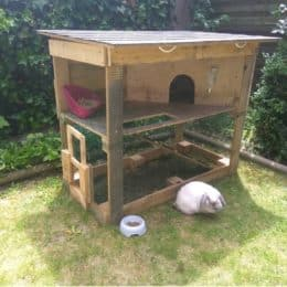 how to prepare a rabbit hutch